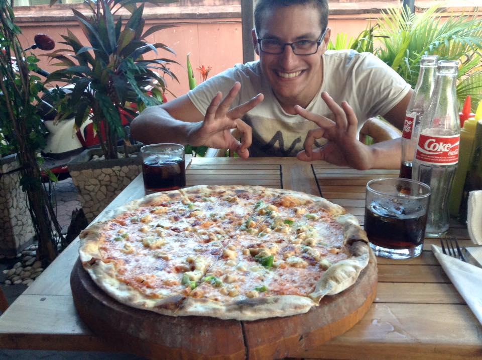 Nusa Dua pizza