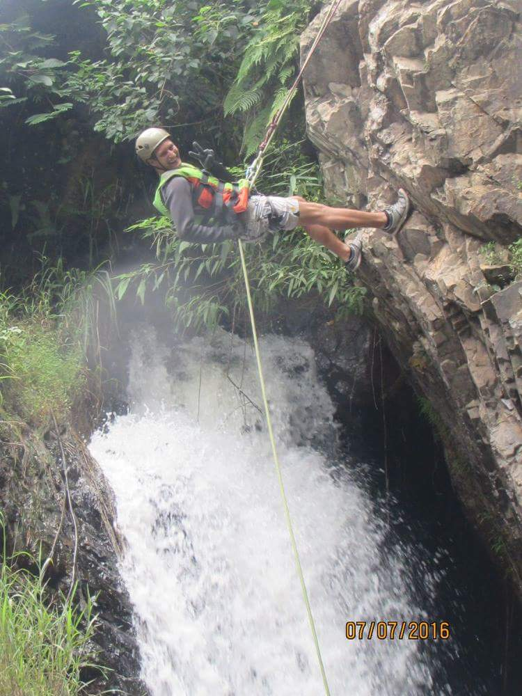 Waterfalls dalat canyoning